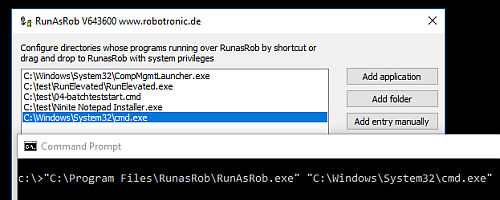 FAQ and how to use runas and other run as administrator